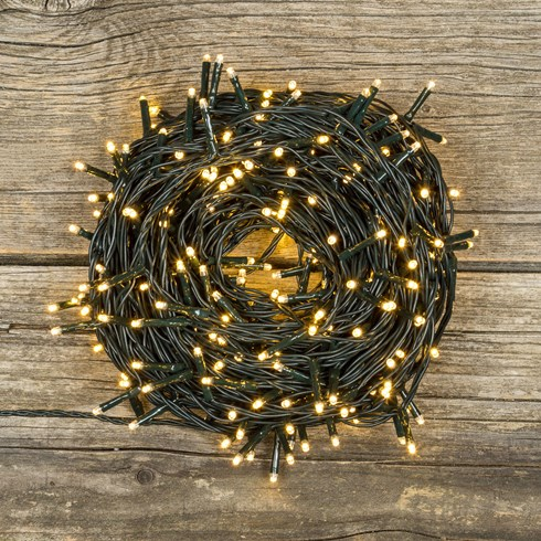 Lichterkette 52,5 m, 750 Mini LEDs warmweiß