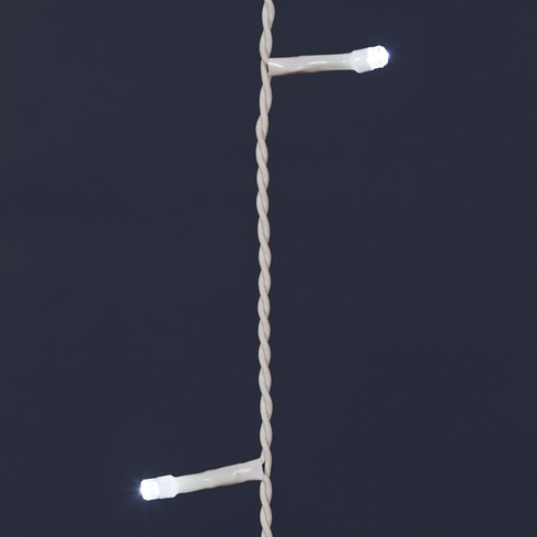 Rideau 3,6 x 1,2 m, 216 led blanc froid