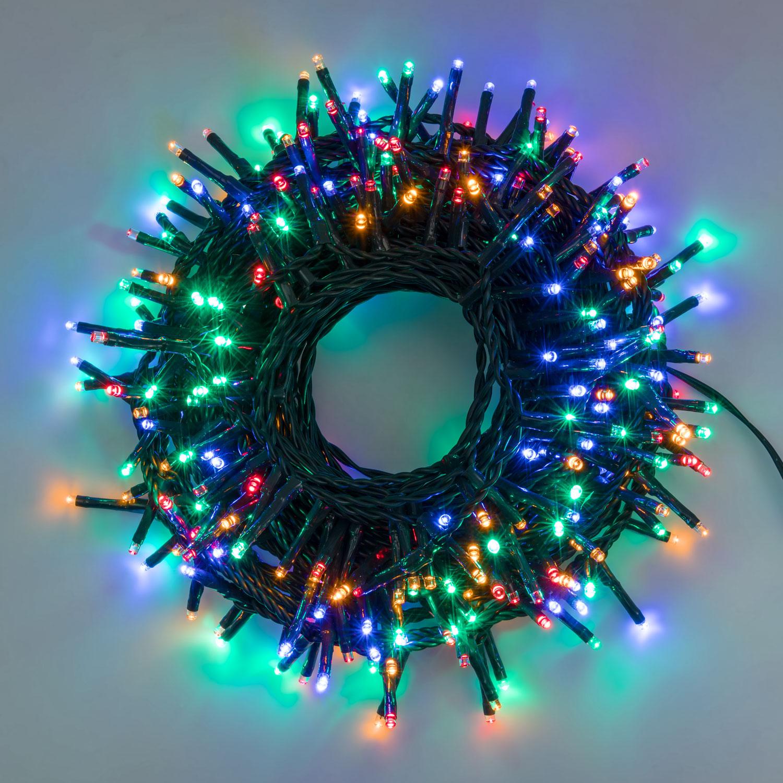 21m 240 LED LED-Lichterkette Multi Color