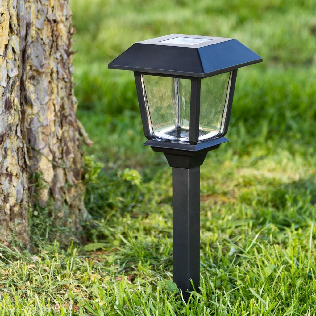 solar led wegeleuchte h 48 5 cm kaltwei led laternen. Black Bedroom Furniture Sets. Home Design Ideas