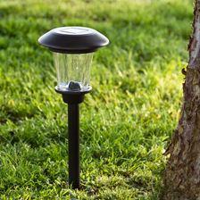 Luces solares para jard n luminal park - Balizas solares jardin ...