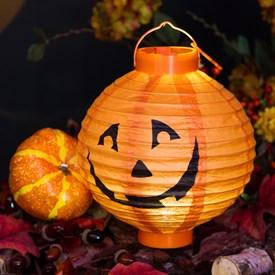 Lanterna zucca Halloween a batteria Ø 20 cm 4b9018b421b2