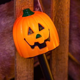 Bastoncino da giardino zucca Halloween a batteria cb4333d48b8b