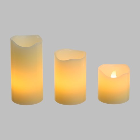 Velas Led Ø 5cm (set de 3)