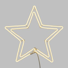 Stella Luminosa Di Natale.Stelle Luminose Per Natale E Per Decorazione Luminal Park