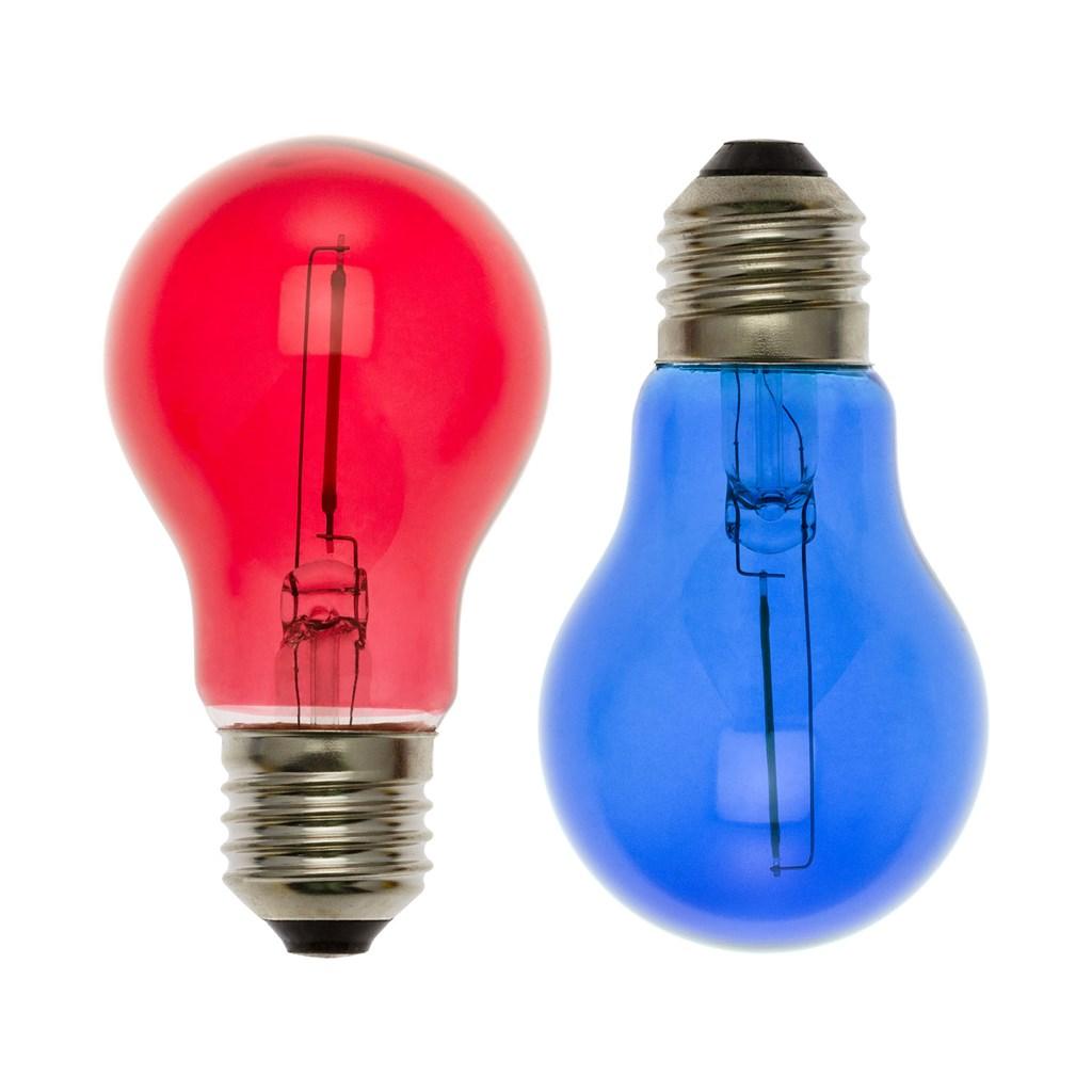 Ersatzlampen Weihnachtsbeleuchtung.2er Set Led Ersatzlampen Rot Blau