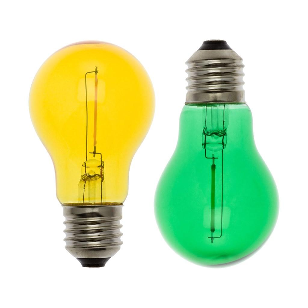 Ersatzlampen Weihnachtsbeleuchtung.2er Set Led Ersatzlampen Gelb Grün