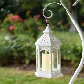 Lanterne Bianche Da Esterno.Lanterne Led A Batteria Per Esterni Luminal Park