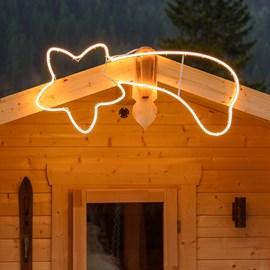 leuchtende weihnachtsfiguren f r au en luminal park. Black Bedroom Furniture Sets. Home Design Ideas