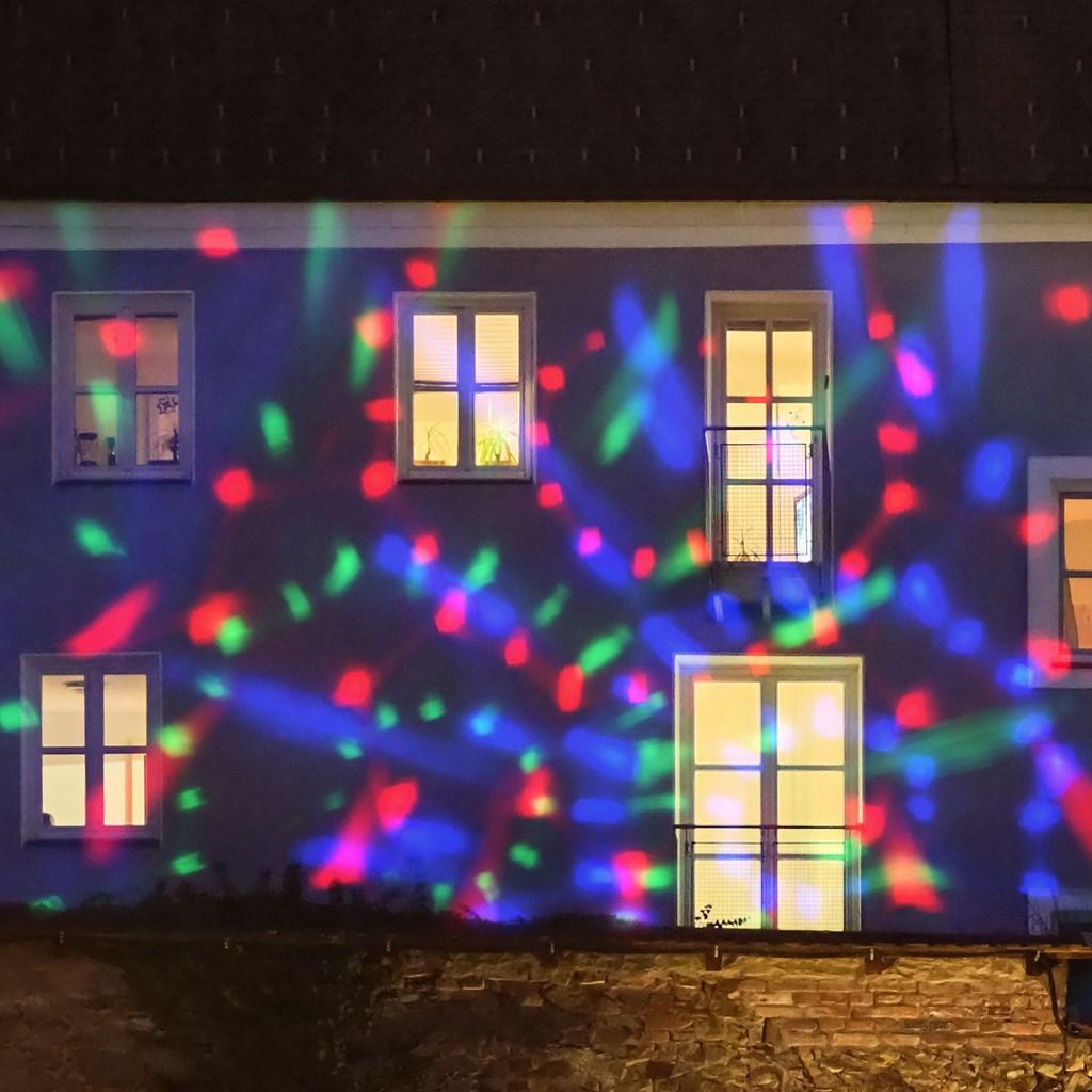 Led Weihnachtsbeleuchtung Strahler.Kaleidoskop Led Strahler Buntes Licht