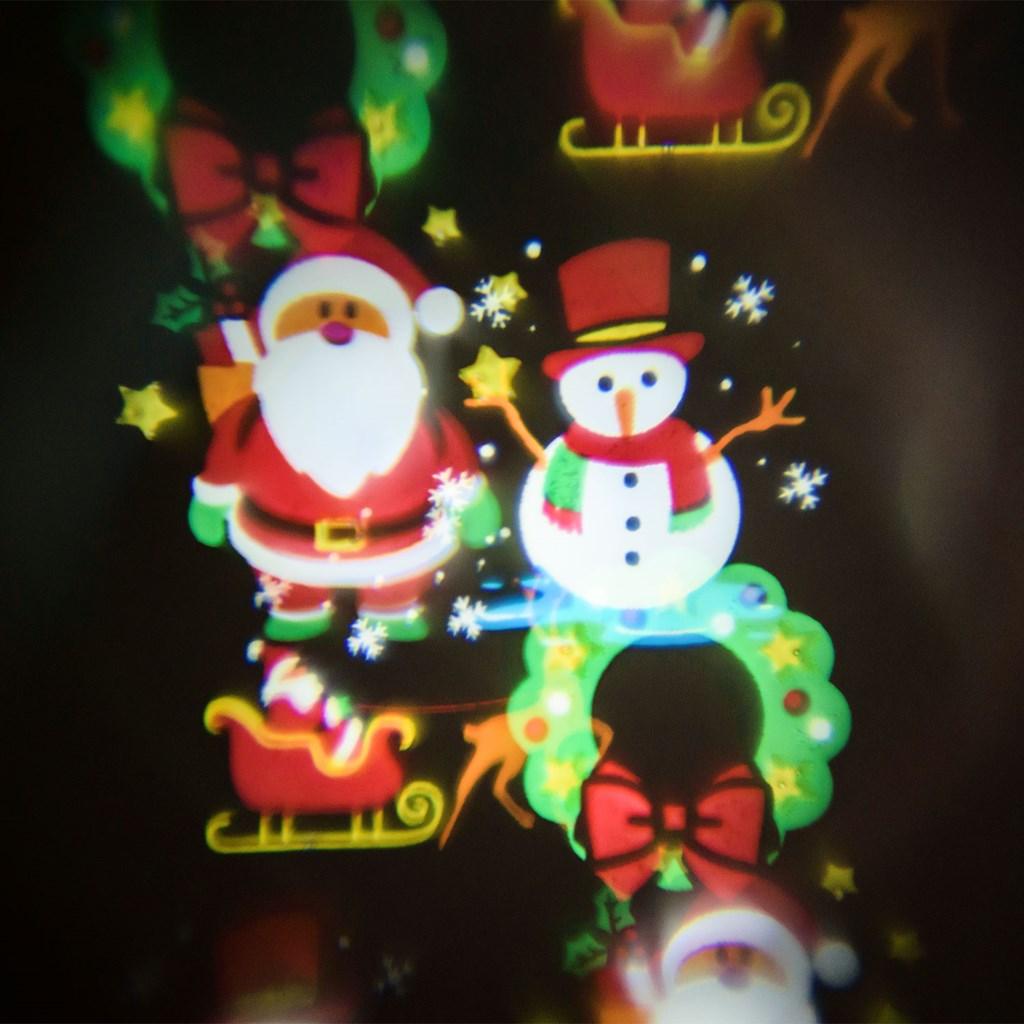 88230f5f92e Set de 6 imágenes navideñas y de fiesta para proyector Óscar ...