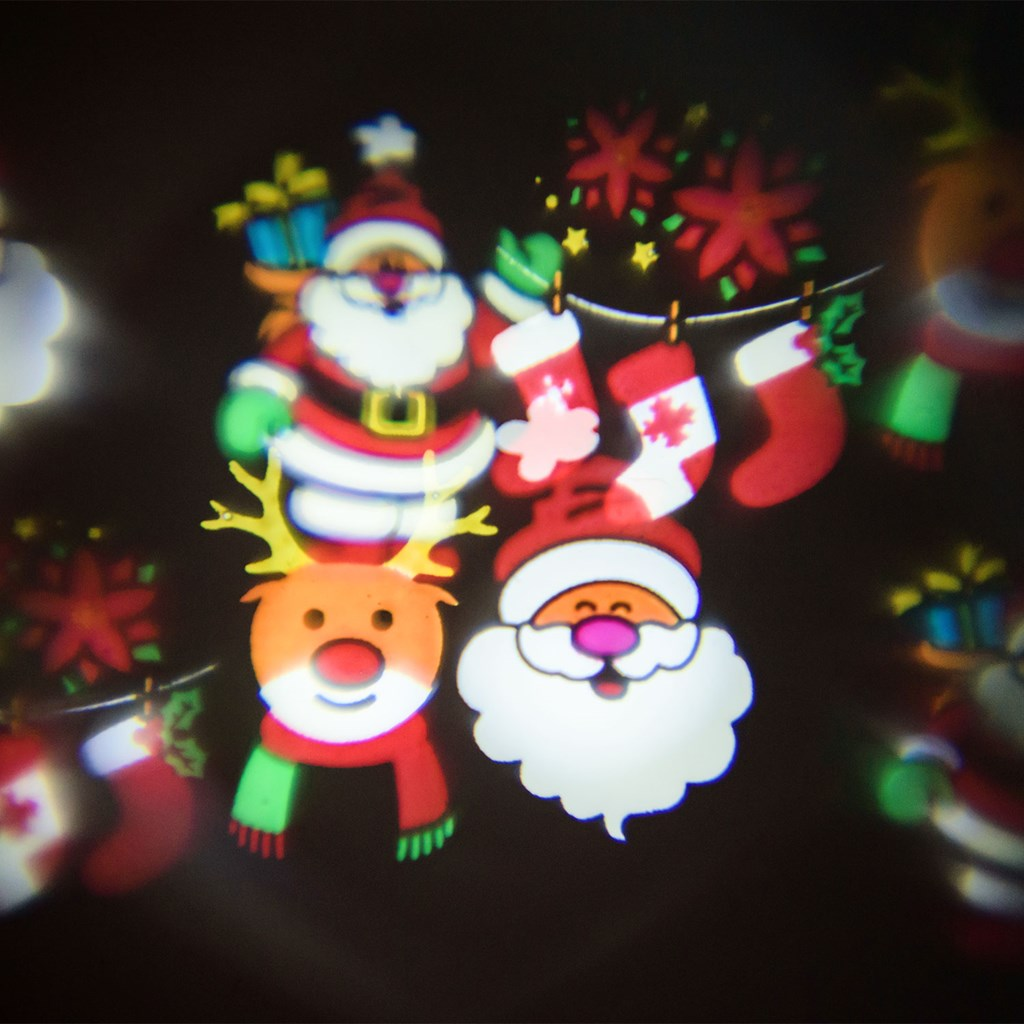 cac5dc31a23 Set de 6 imágenes navideñas y de fiesta para proyector Óscar ...
