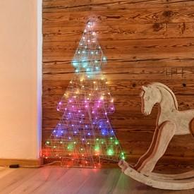 Auguri Di Natale 105.Figure Luminose Natalizie Luminal Park