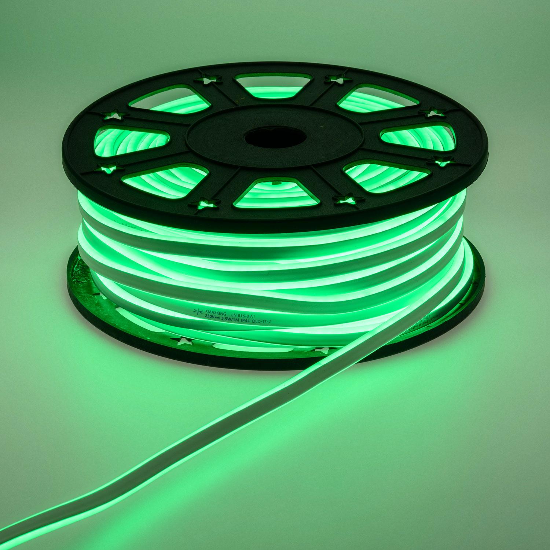 Cordón luminoso LED Set 6,6 m rojo