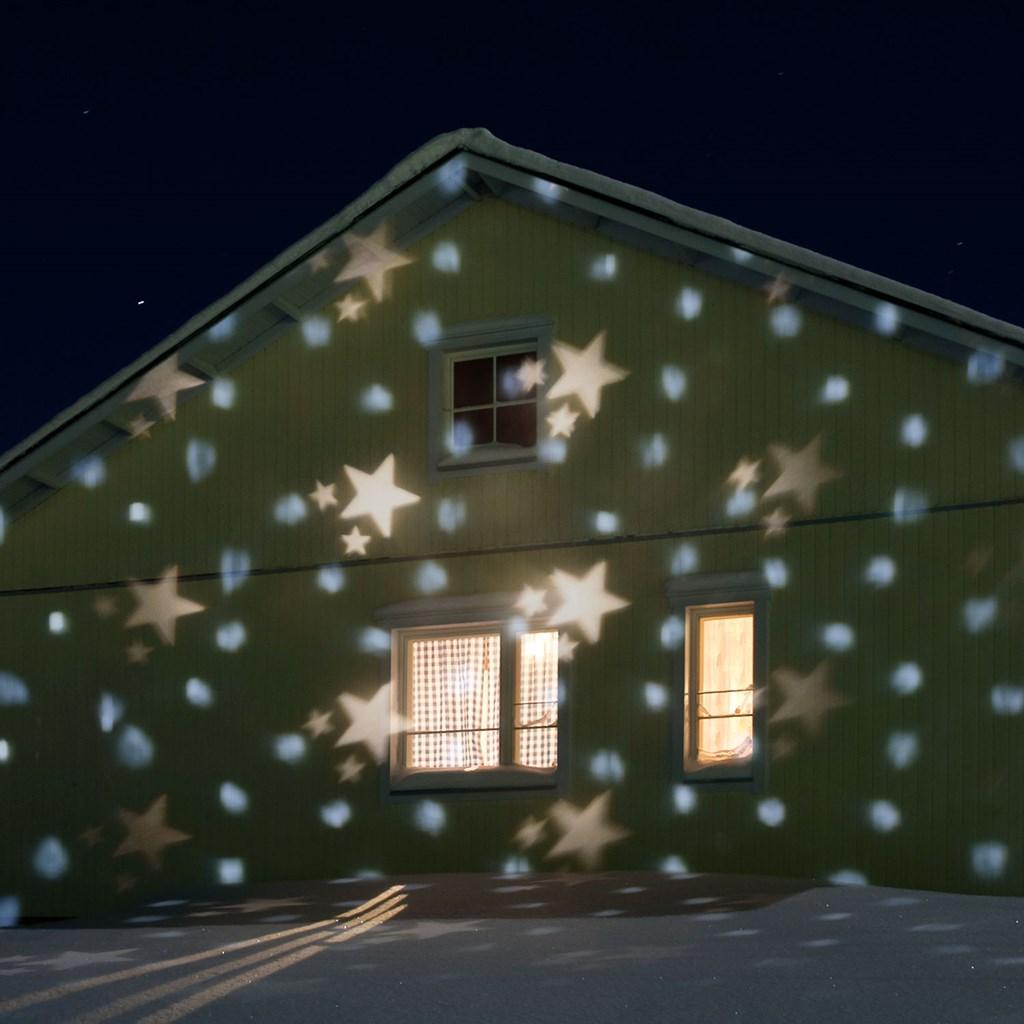 Proiettore Luci Natale Bianche.Proiettore Led Nevicata