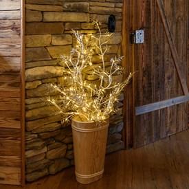 Rami luminosi e decorazioni natalizie luminal park - Rami decorativi natalizi ...