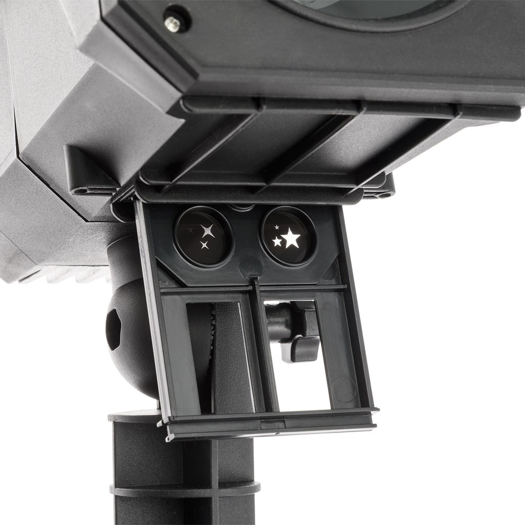 Projecteur oscar laser et led 12 images interchangeable led blanc froid et laser vert for Laser projecteur