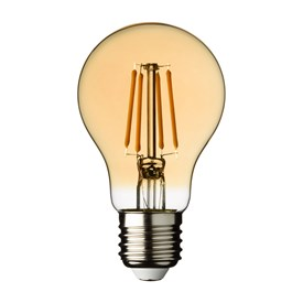 LED-Vintage Tropfenbirne, 60 mm, E27, warmweiß, 4 Watt, 230V