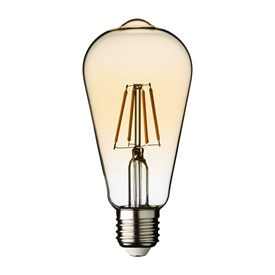 LED-Vintage Birne Retro, 64 mm, E27, warmweiß, 4 Watt, 230V