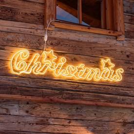 Led Frohe Weihnachten.Frohe Weihnachten Led Schriftzug Luminal Park