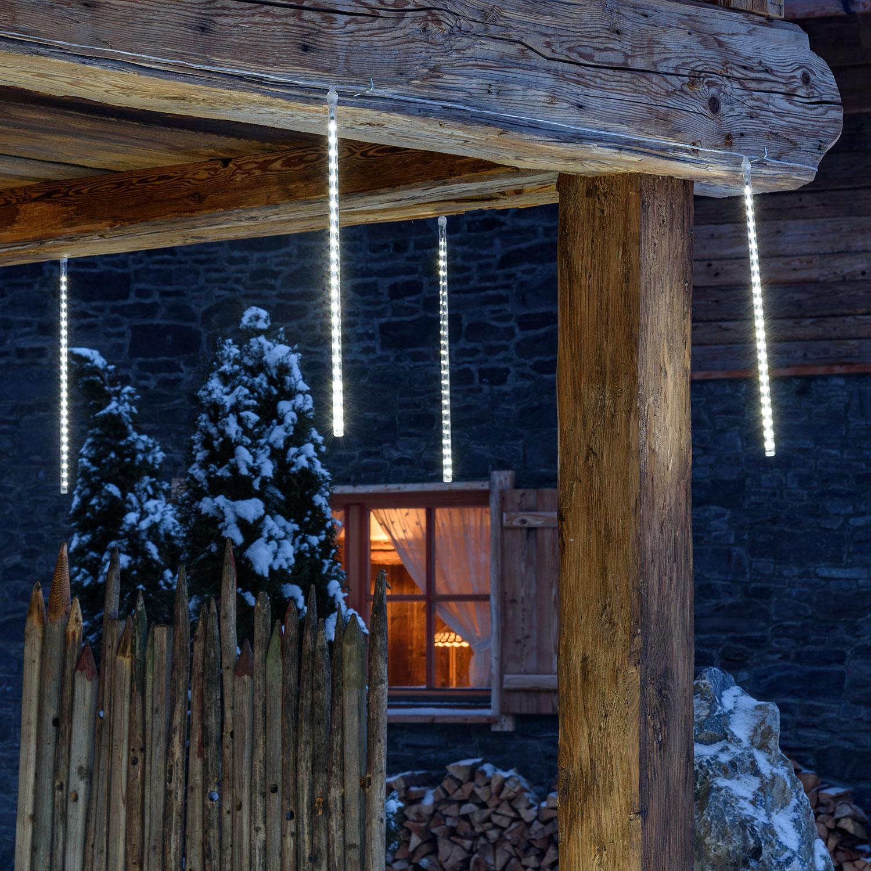 Weihnachtsbeleuchtung Aussen Schneefall.Leds Mit Schneefall Und Eisregen Effekten Luminal Park