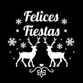 adff3eaf798 Gobo Felices Fiestas con renos y copos de nieve Ø 37 mm para Proyectores Led  Pro