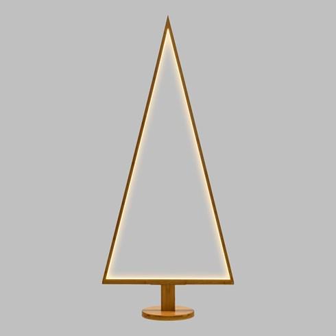 design wood light dreieckiger led weihnachtsbaum aus. Black Bedroom Furniture Sets. Home Design Ideas