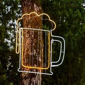 Weihnachtsbeleuchtung Figuren Led.Leuchtende Led Figuren Für Den Innenbereich Luminal Park