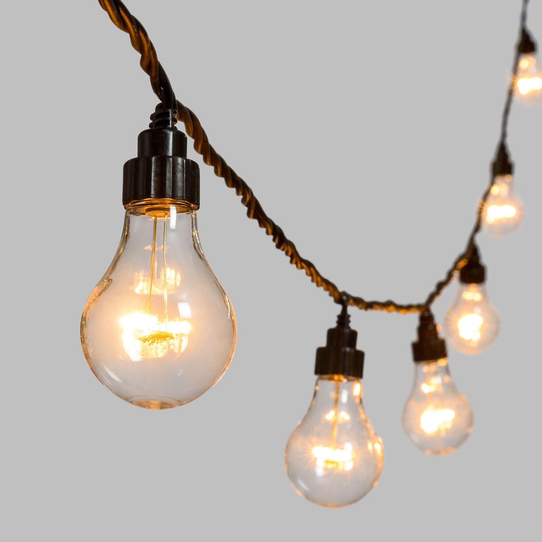 Guirlandes Vintage Vos D'ampoules GuinguetteDécorezamp; Illuminez 2DHE9I