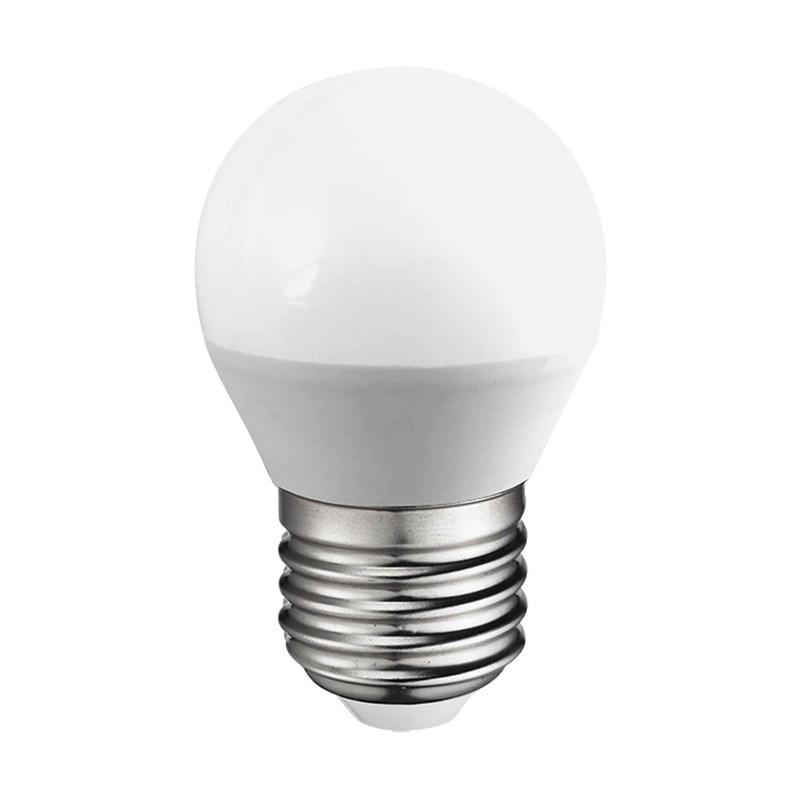 Lampadina a led da 4 watt attacco e27 mini sfera bianco for Lampadine a led in offerta
