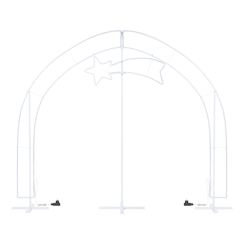 Chaud Néon CrêcheGrotte Lumineux 200 Effet Étoile Lampe Maxi Avec Blanc Tube CmLed En dCoQWBrxe