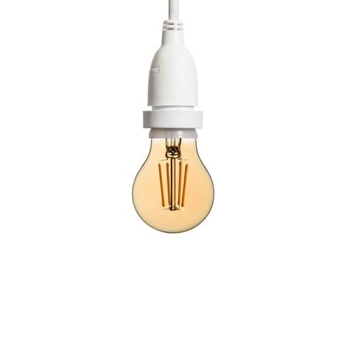 h ngende led tropfenbirne 60 mm wei es kabel 2 m vintage led pro h ngende lampen. Black Bedroom Furniture Sets. Home Design Ideas