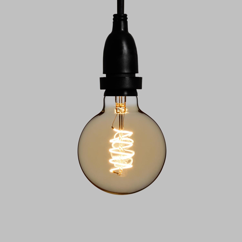 Globe Verre Led Suspensions Guirlande Avec Ampoules Guinguette En Vintage xQoerCBWEd