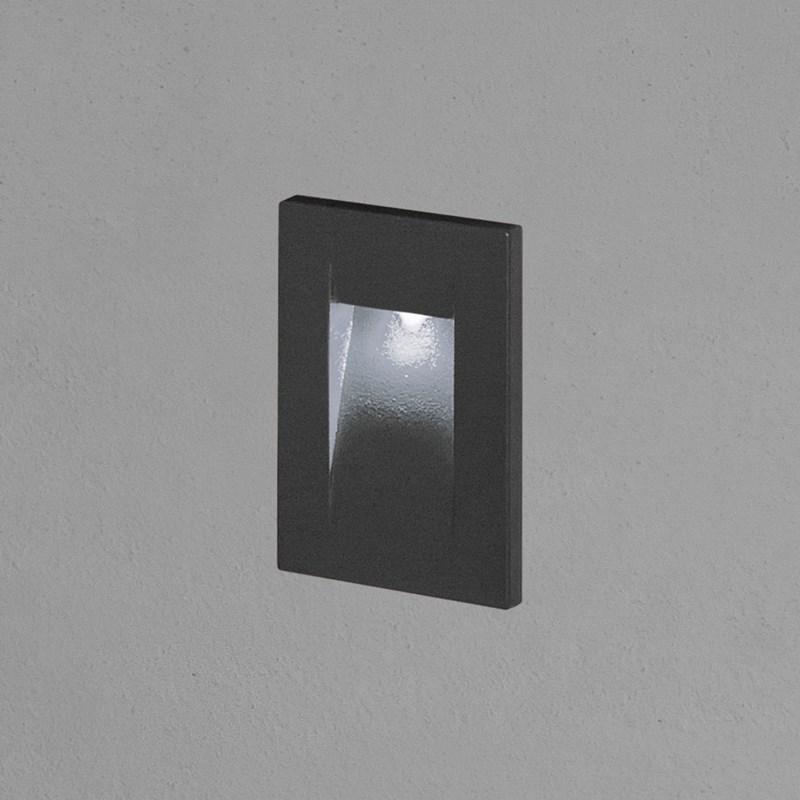 Faro da incasso a parete segnapasso led bianco freddo 3 - Luci da parete led ...