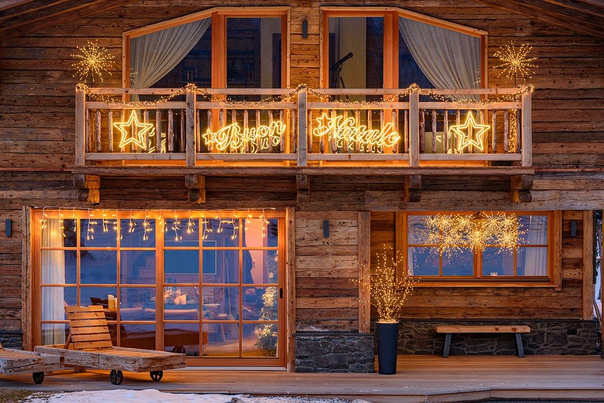 balkon beleuchtung lichterkette. Black Bedroom Furniture Sets. Home Design Ideas