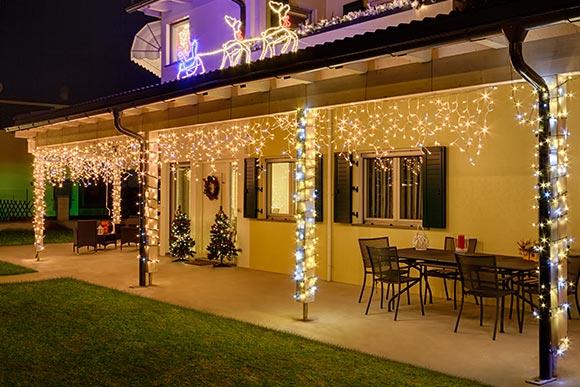 Luci natalizie 2019 per balconi e terrazzi luminal park
