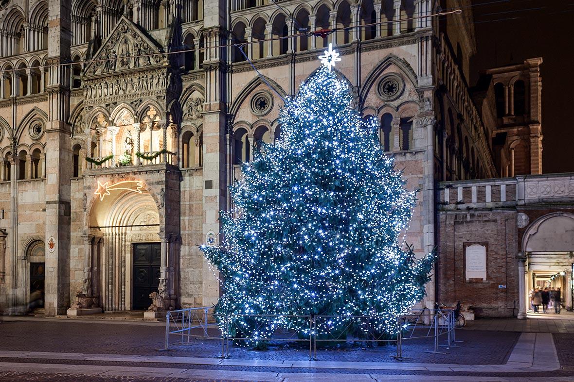 Illuminazione natalizia giardino 2018 luminal park